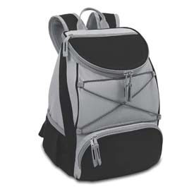 Picnic Time PTX Backpack Cooler, Black by