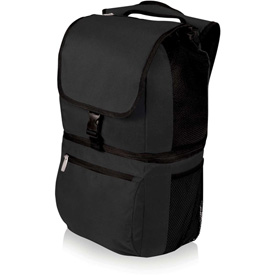 Picnic Time Zuma Insulated Cooler Backpack Black by