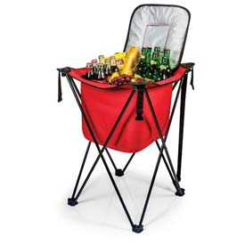 Picnic Time Sidekick Cooler with Stand, Red by