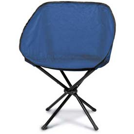 "Picnic Time Sling Chair 789-00-138-000-0, 19""W X 5""D X 5""H, Navy"