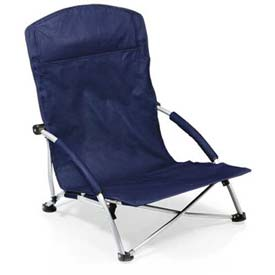 "Picnic Time Tranquility Chair 792-00-138-000-0, 25.4""W X 21.7""D X 25.1""H, Navy"
