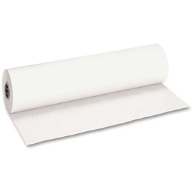 "Pacon® Decorol Flame Retardant Art Rolls, 40 lb, 36"" x 1000 ft, Frost White"