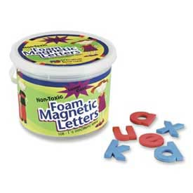 "Pacon® Foam Magnetic Letters, 1-1/2"", Lower Case, 108 Letters/Set"