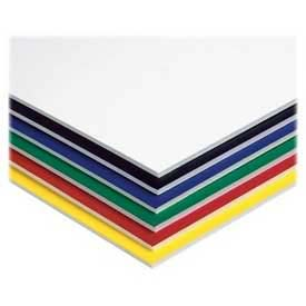 "Pacon® Foam Board, 20"" x 30"", Assorted, 10/Carton"