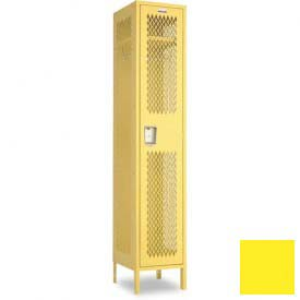 "Penco 6A019-056 Invincible II Locker, 1 Tier Basic Unit, 12""W X 15""D X 48-1/2""H, Sunburst"
