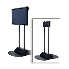 "Flat Panel Display Stand For 50"" - 71"" Screens, Single/Back-To-Back Mountable"