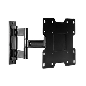 "Pro Articulating Arm Wall Mount For 22"" - 40"" LCD Screens - Gloss Black"