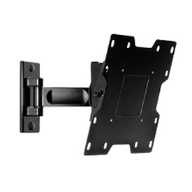 "Pro Universal Pivot Wall Mount For 22"" - 40"" LCD Screens - Gloss Black"