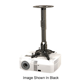 """Pro Universal Projector Mount, 16.2""""-25.2"""" Adjustable Extension - White"""