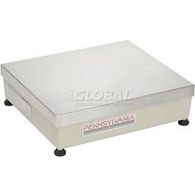 "Pennsylvania Remote 12"" x 14"" Platform for Dual Base Digital Counting Scales 150lb Capacity"
