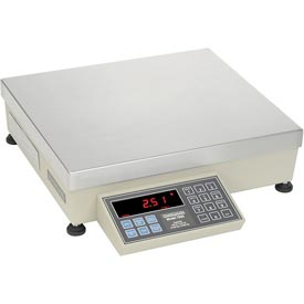 "Pennsylvania Heavy Duty AC/DC & Dual Base Capable Digital Counting Scale 200lb x 0.02lb 12"" x 14"""