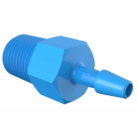 Bio-Medical Barbed Adapters, 1/16-27 and 1/8-27 NPT