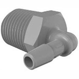 Bio-Medical Barbed Elbows, 1/2-14 and 3/4-14 NPT
