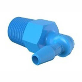Bio-Medical Barbed Elbows, 1/8-27 NPT