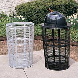 Plastic Outdoor Receptacles