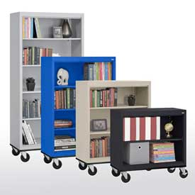 Steel - Mobile Bookcases
