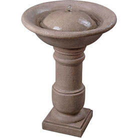 Garden Planters and Birdbaths