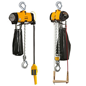 Harrington AL EX Certified Spark Resistant Lube Free Air Hoist