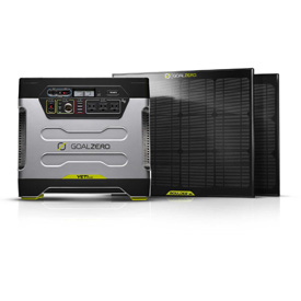 GoalZero Portable Solar Generators