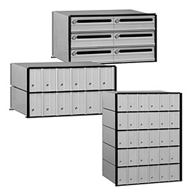 Salsbury Commercial Aluminum Mailboxes