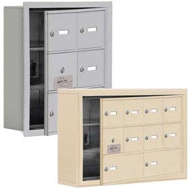 Salsbury 19100 Series Cell Phone Lockers, Surface Mounted, Keyed Lock with Front Master Access Panel