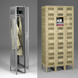 Tennsco All-Welded Ventilated Lockers