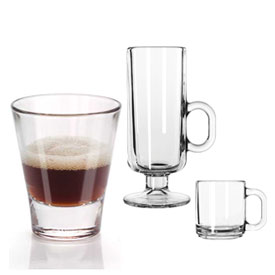 Coffee & Espresso Glassware