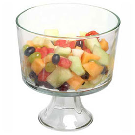 Multi-Purpose Glass Serving Bowls