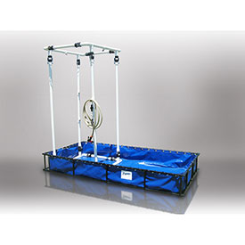 Husky Steel or Aluminum Frame HAZ/MAT Decontamination Pools With Shower