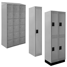 ALB Plus All-Welded Steel Lockers