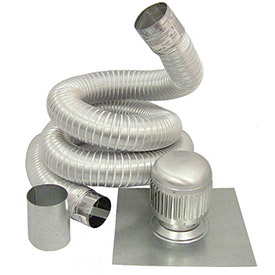 Aluminum Deluxe Chimney Liner Kits