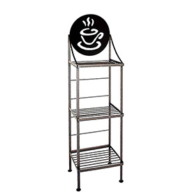Art Silhouette Bakers Racks-Silhouette Patterns