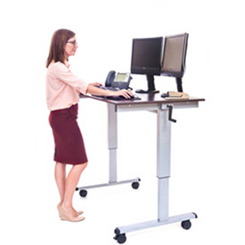 Luxor - Height Adjustable Workstation Table Desk