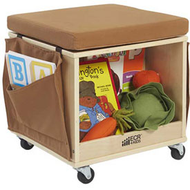ECR4KIDS® - Mobile Teacher Stool with Storage