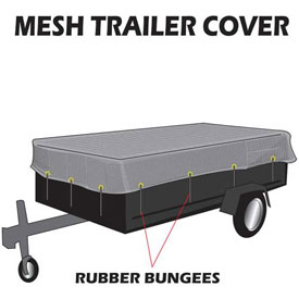 Utility Trailer Mesh Covers