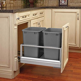 Kitchen Pull-Out and Built-In Trash Cans