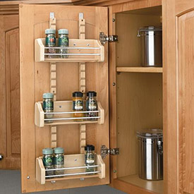 Kitchen Spice Rack and Cutting Boards