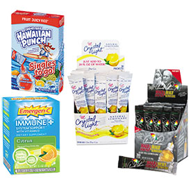 Drink Mixes & Flavor Enhancers