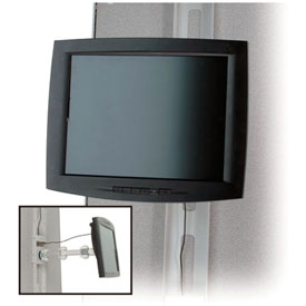Cubicle and Partition-Hung Desktop Monitor Mounts