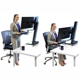 Sit and Stand Monitor Mounts