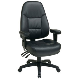 Office Star - Leather Upholstered Chairs