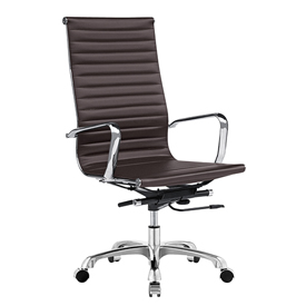 Fine Mod Imports Leather Upholstered Chairs