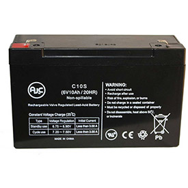 AJC® Brand Replacement Wheelchair Batteries for American Monarch