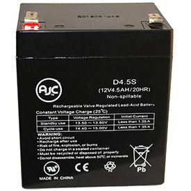 AJC® Brand Replacement Wheelchair Batteries for Amstron