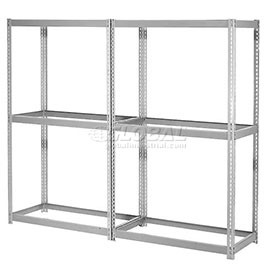 7'H Expandable Bulk Metal Storage Rack Without Deck