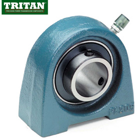Tritan, Pillow Block Bearings, Tapped Base, Set Screw Locking