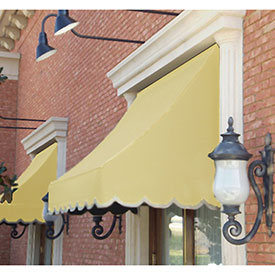Awntech 3-3/8'W Crescent Shaped Awnings