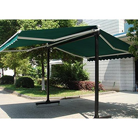 Awntech Free Standing Double Sided Retractable Awnings