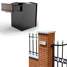 QualArc Collection Mailboxes with Adjustable Chute