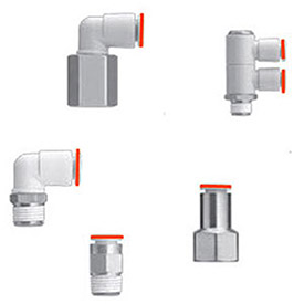 SMC Corporation Pneumatics KQ2 Fittings X Models